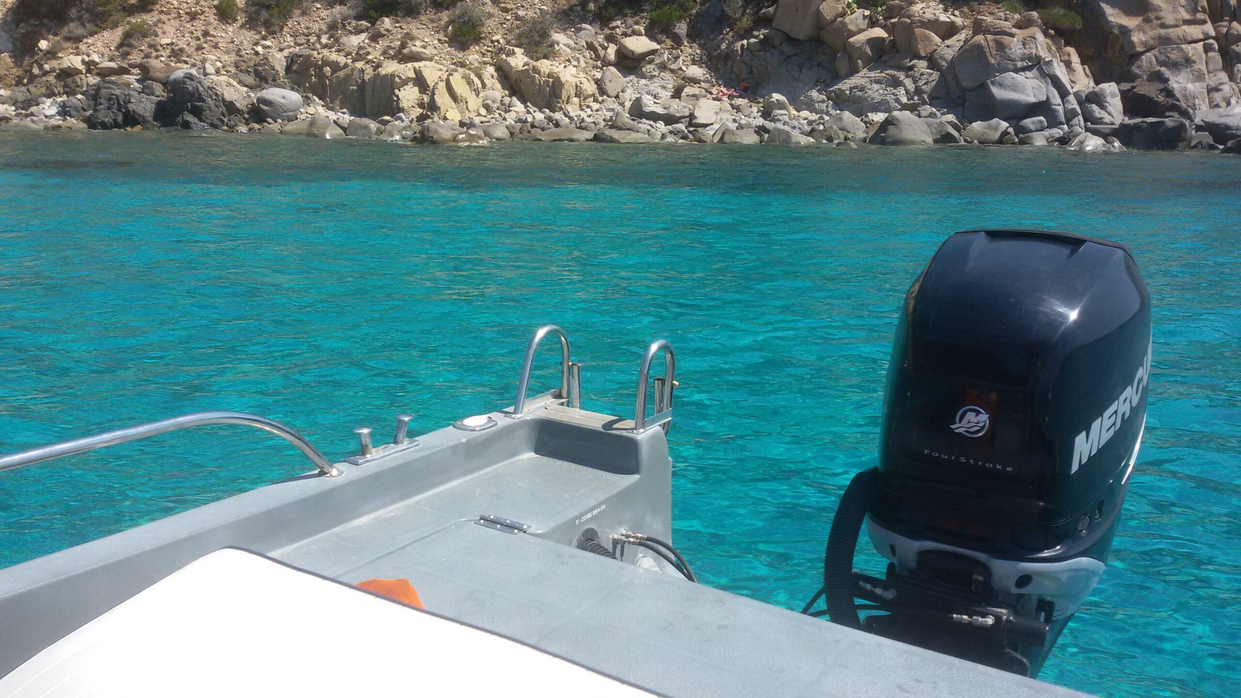 Noleggio barca a motore Cagliari