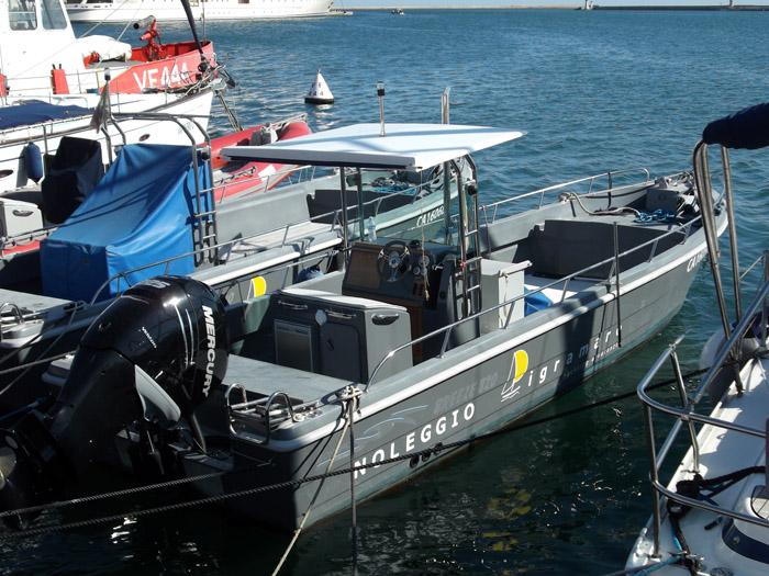 Barche a motore Cagliari - Pigramare