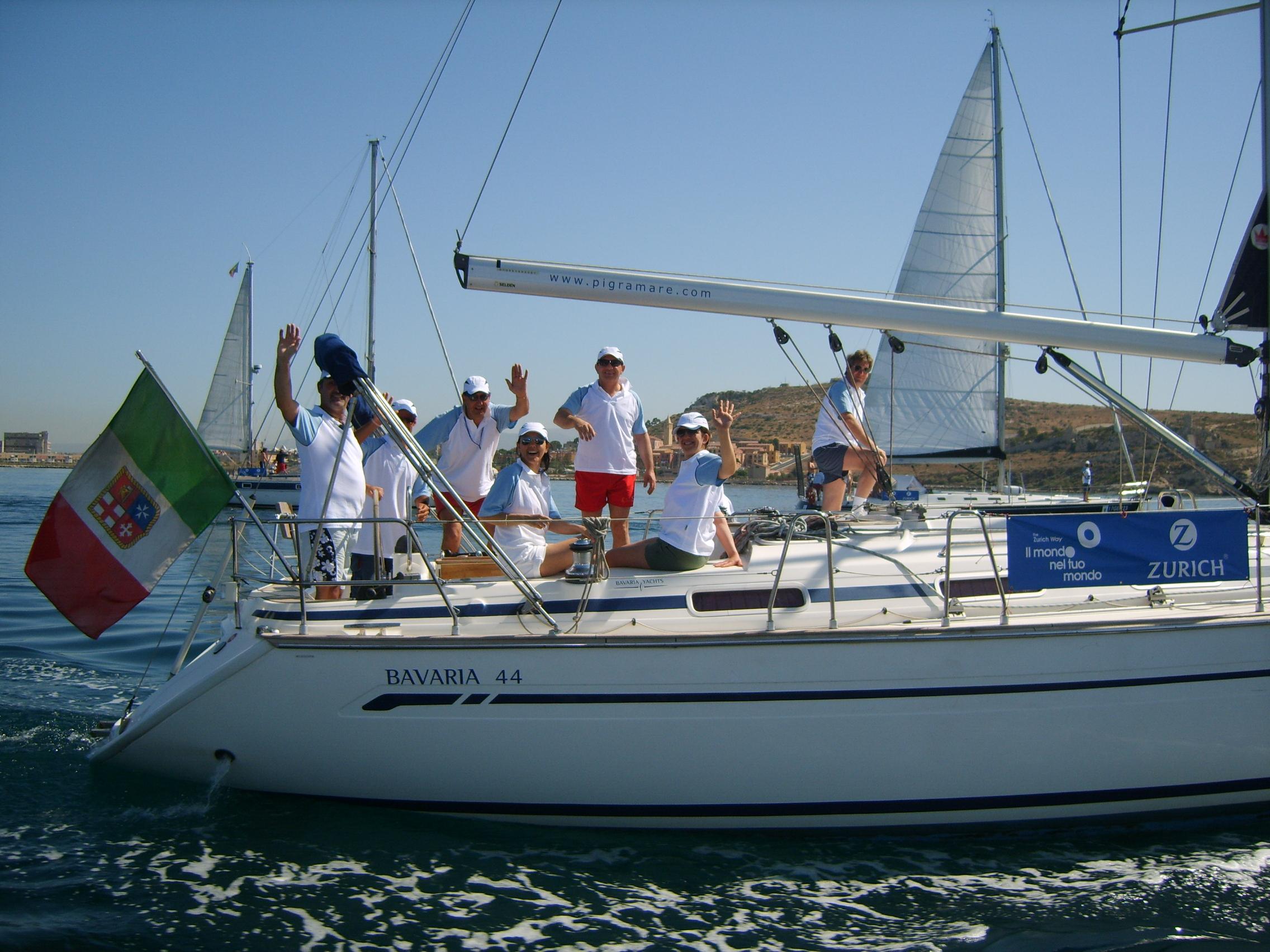 Eventi aziendali in barca a vela