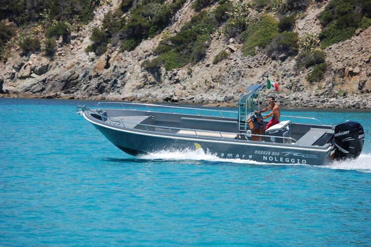 Noleggio barca a motore: Cagliari, Pigramare