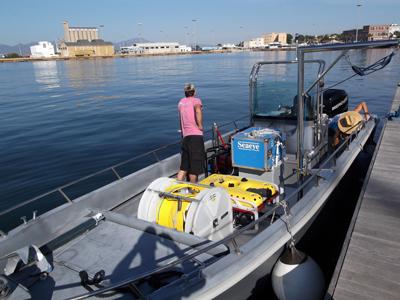 Noleggio imbarcazione da lavoro Cagliari (2)