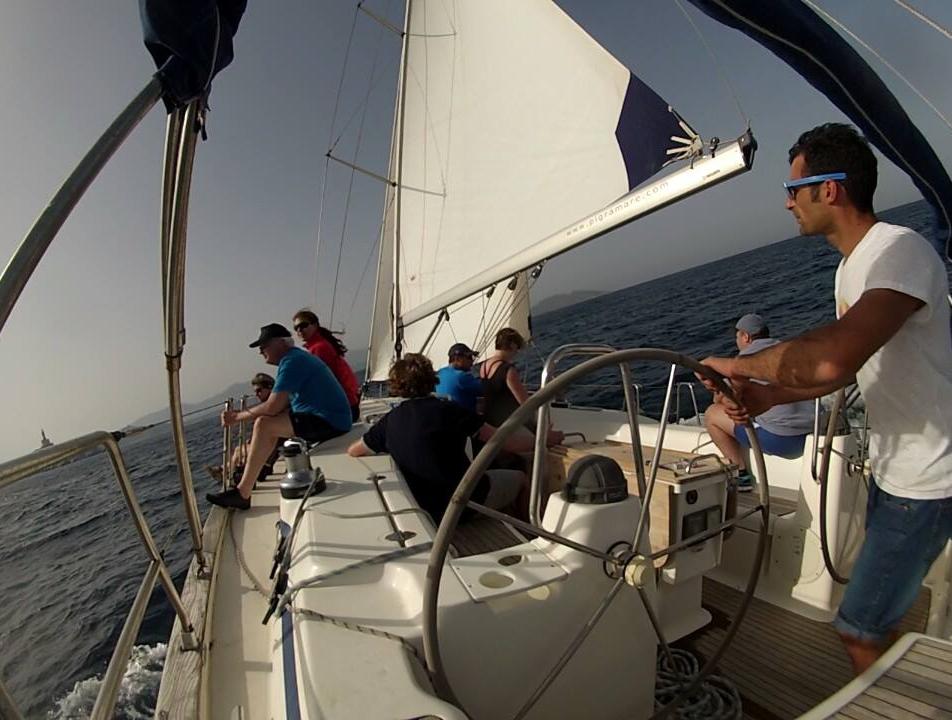 Noleggio imbarcazioni a vela con conducente